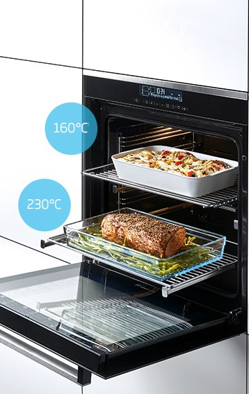 Divide and Cook de Beko, deux fours en un