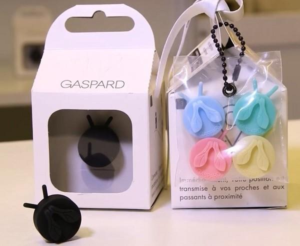 Gaspard, le bouton de protection pour vous ou vos proches