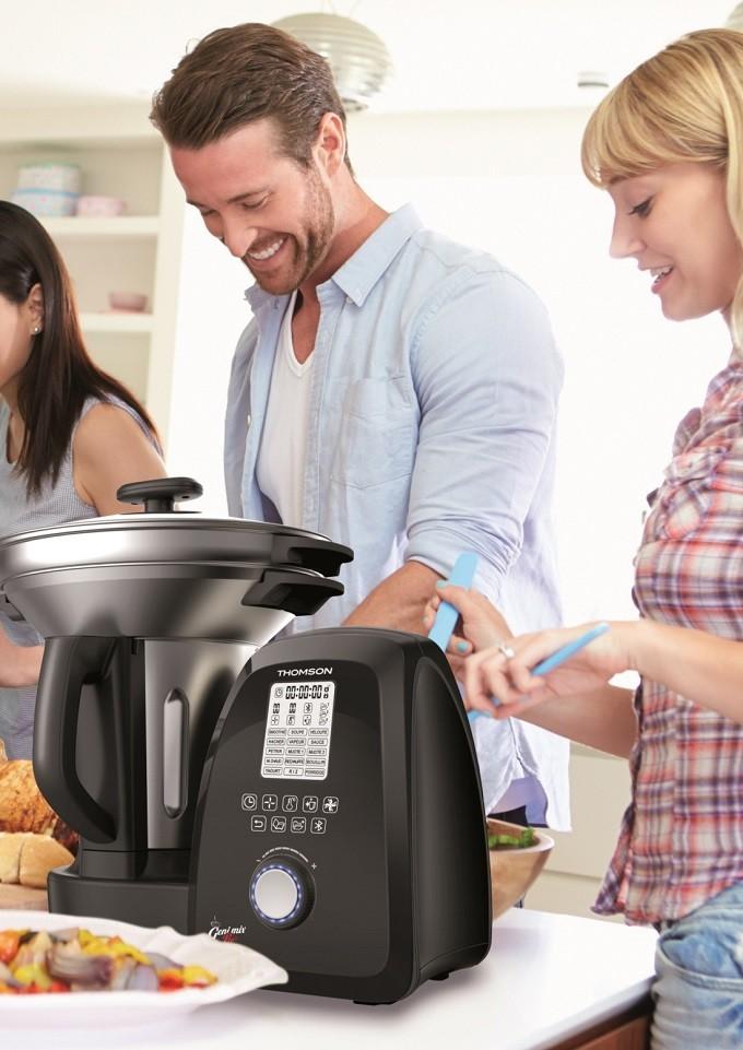Thomson Geni Mix Pro Connect : le robot culinaire qui exauce vos vœux culinaires
