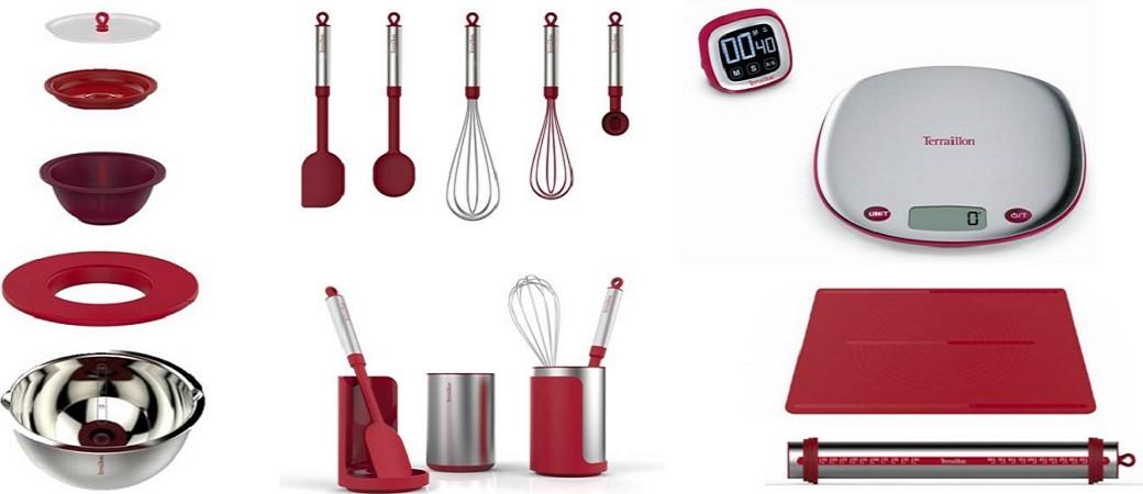 Terraillon Express your chef : gamme pâtisserie designée par Christophe Michalak