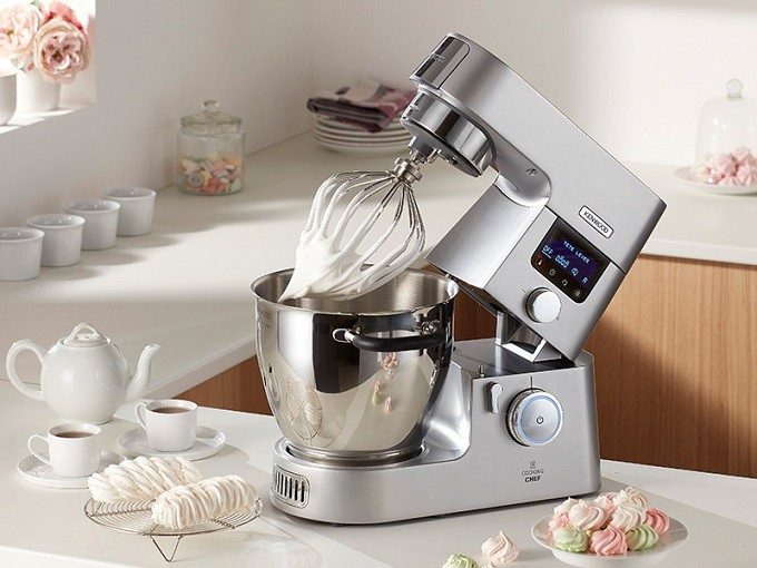 Cooking chef gourmet kenwood modernise son robot cuiseur for Cuisson vapeur kenwood cooking chef