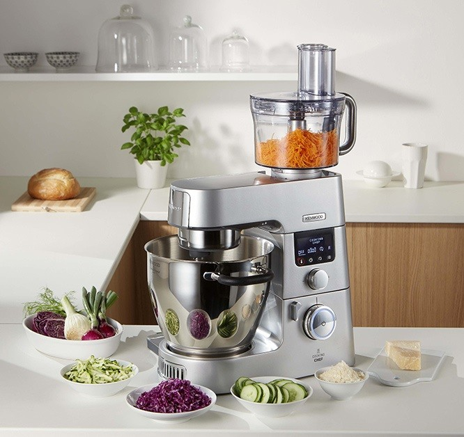 Cooking chef gourmet kenwood modernise son robot cuiseur - Prix cooking chef gourmet ...