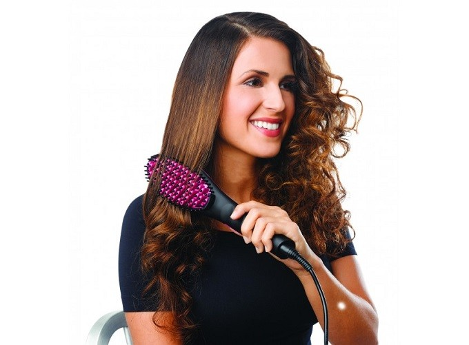 Brosse chauffante  Glam'Brush : pour une coiffure express et glamour