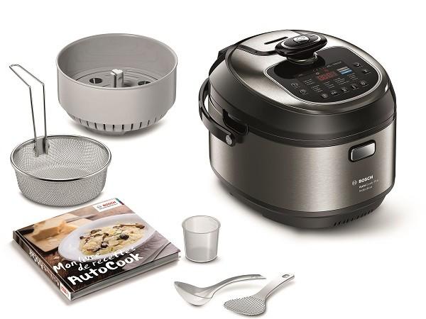 Bosch AutoCook Pro, induction et cuisson vapeur sous pression