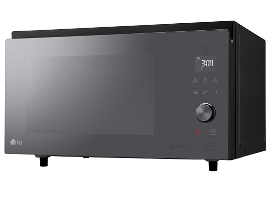 Lg neochef le four qui combine les cuissons micro ondes for Four micro onde vapeur