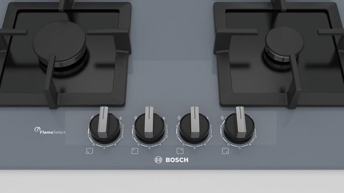 Table Bosch  FlameSelect, la précision enfin apportée à la cuisson au gaz