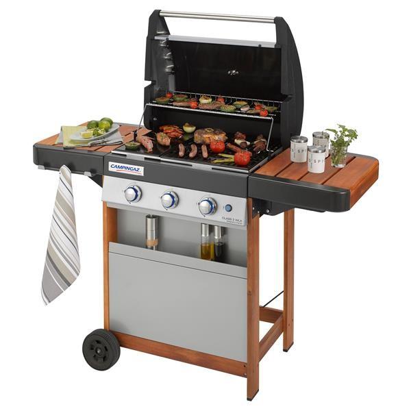 Campingaz Class 3 WLX, le barbecue à gaz modulaire