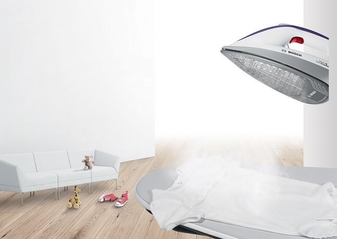 bosch prohygienic la centrale vapeur qui purifie le linge. Black Bedroom Furniture Sets. Home Design Ideas