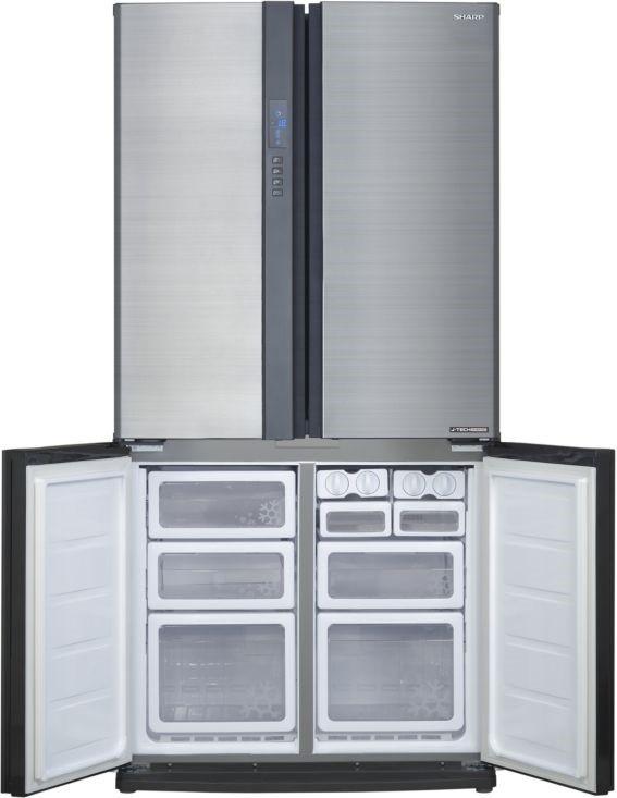 Réfrigérateur congélateur Sharp, le silence des grands espaces