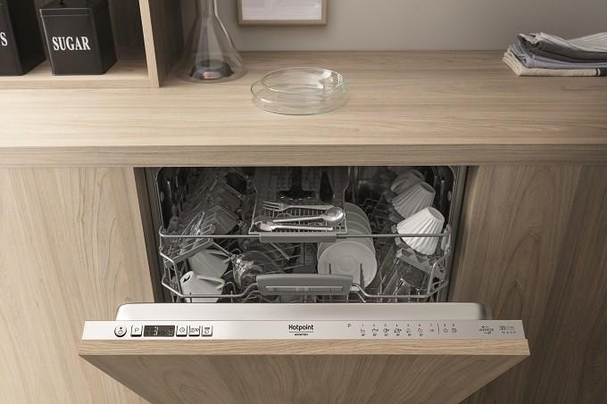 Hotpoint Zone Wash 3D, laver sa vaisselle sans se soucier de prélaver