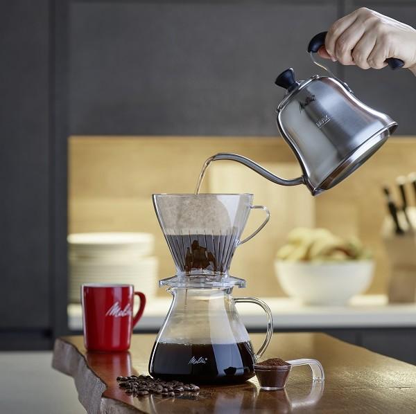 Melitta Pour Over, accessoires rétros pour café à la mano