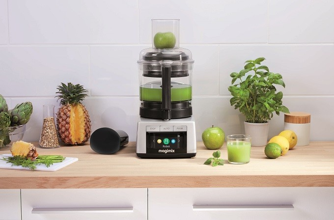 Extracteur de jus et Spiral Expert, les nouveaux accessoires pour robots Magimix