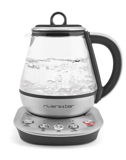 Les 4 machines à thé de Riviera & Bar ou la maîtrise de l'infusion