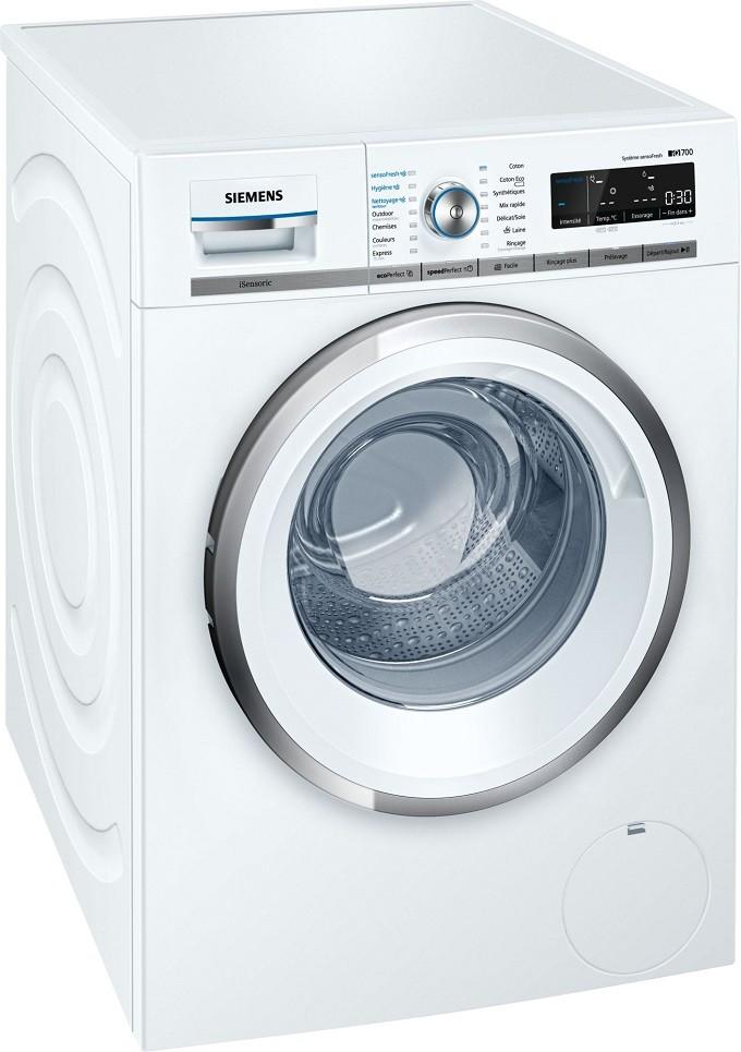 Siemens iQ700 SensoFresh, le lave-linge qui oxygène vos vêtements