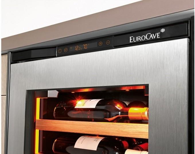 Eurocave Modèle S, inspiration et intégration pour la cave à vin de vieillissement