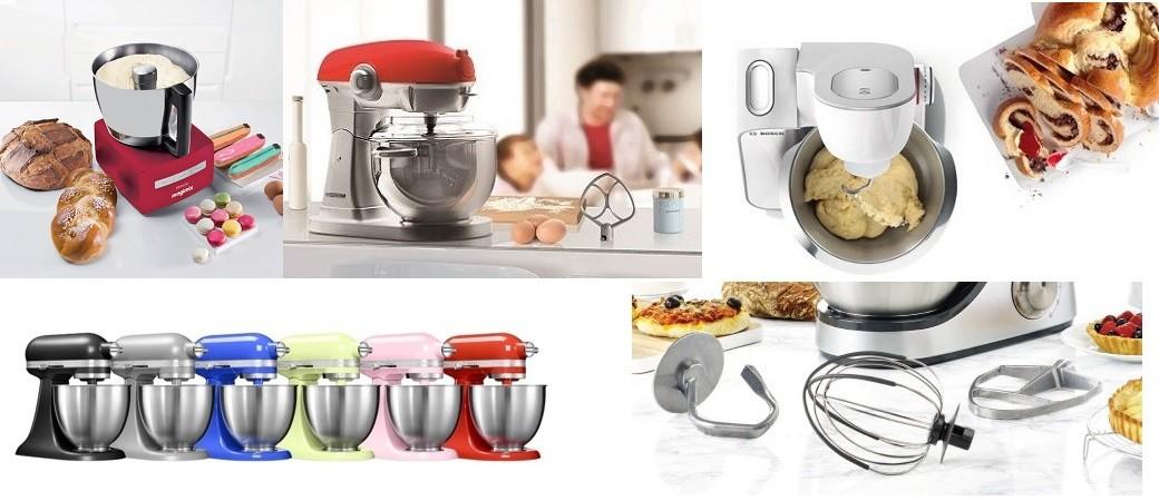 Robots pâtissiers, notre sélection d'assistants culinaires multifonction