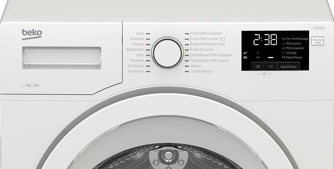 Beko BDS7034W, le sèche-linge simple et discret
