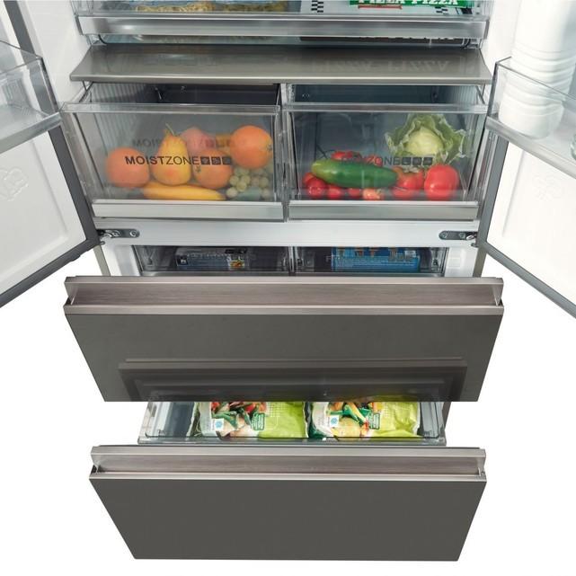 Haier HB18FGSAAA, un réfrigérateur multi portes qui accélère le froid