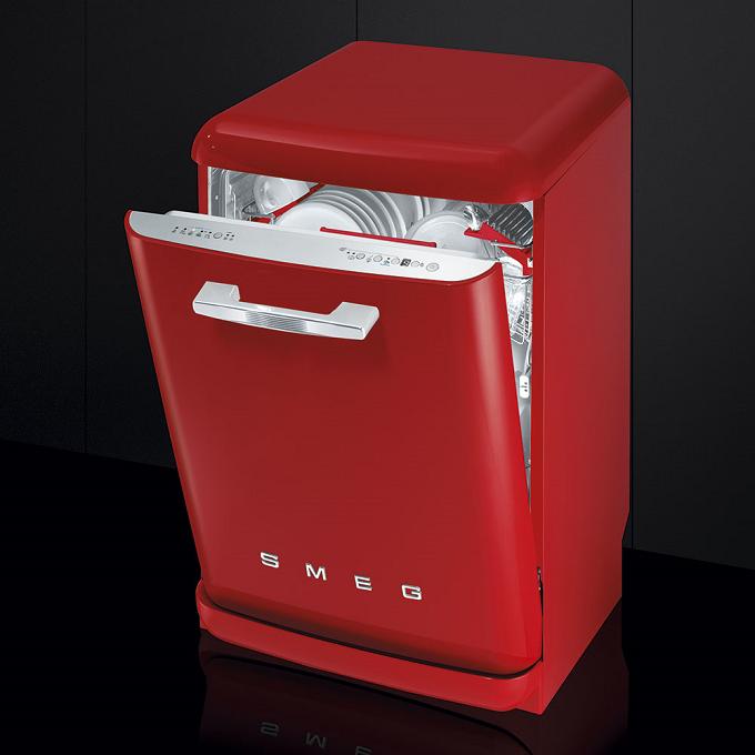 Lave Vaisselle Lvfab Smeg L Esthétique Chic Des Années 50