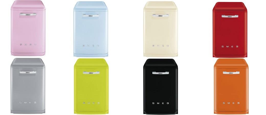 lave vaisselle lvfab smeg l esth tique chic des ann es 50. Black Bedroom Furniture Sets. Home Design Ideas