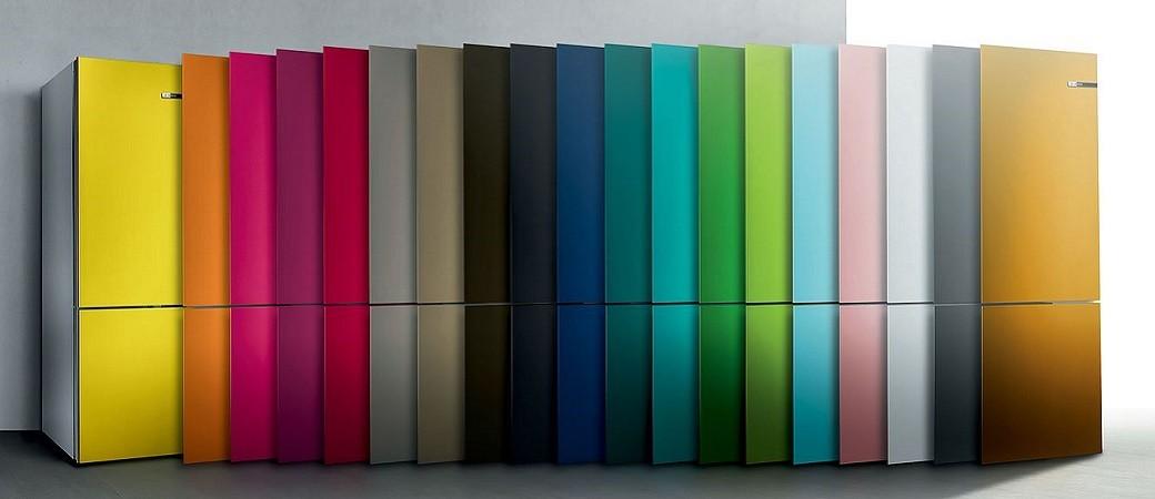 Bosch VarioStyle, le réfrigérateur combiné qui change de porte