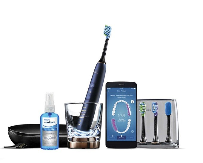 Philips Sonicare DiamondClean Smart, la Rolls de la brosse à dents