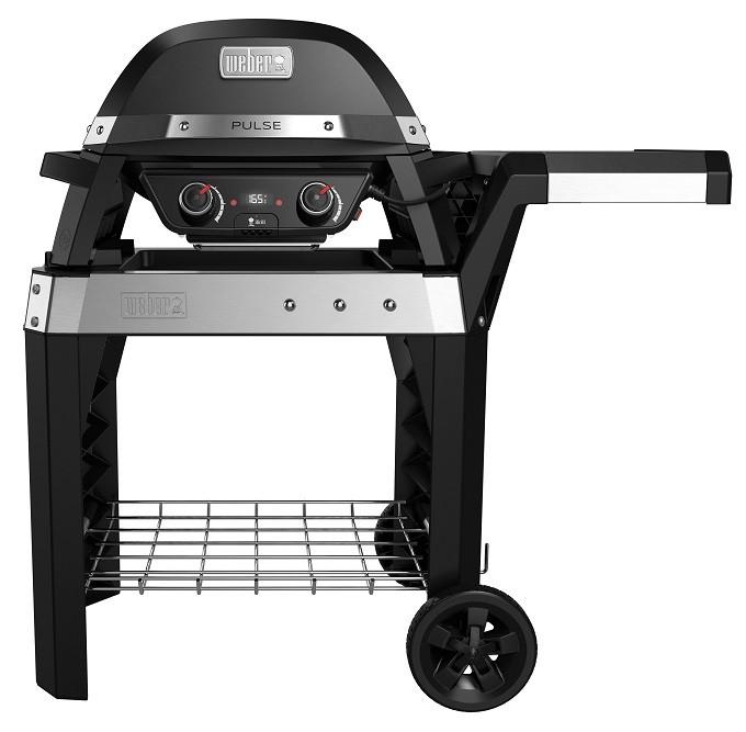 Weber Pulse : le barbecue électrique réinventé, chic et connecté