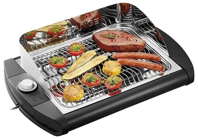 Lagrange ondule la grille de son barbecue Pavillon, et c'est une bonne idée !