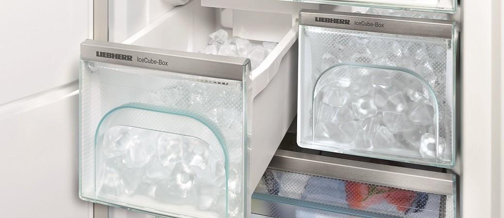 Avec les IceMakers Liebherr, les glaçons ne sont plus une option