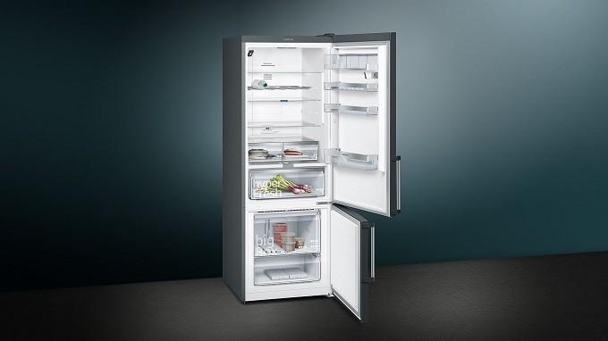 Siemens iQ500 KG56NHX3P, le réfrigérateur congélateur photographe