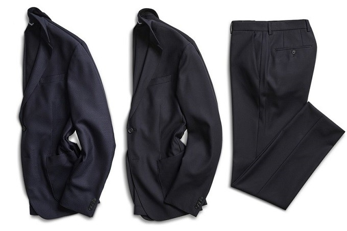 Hugo Boss lance un costume lavable en machine