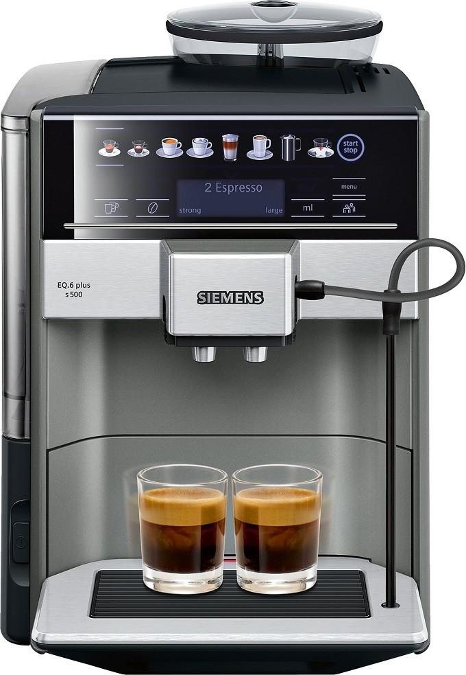 Siemens EQ.6 plus s500, la machine expresso élégante et intelligente