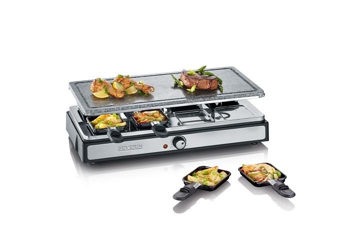 Avec Severin, c'est raclette ou fondue, ou raclette et fondue, ou raclette et pierrade…