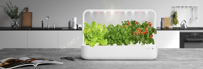 Emsa Click & Grow , des jardinets intelligents à 3 ou 9 plantes