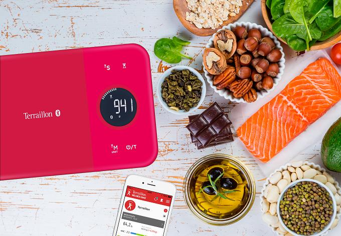 Terraillon Nutritab, la balance de cuisine qui est aussi un coach nutritionnel