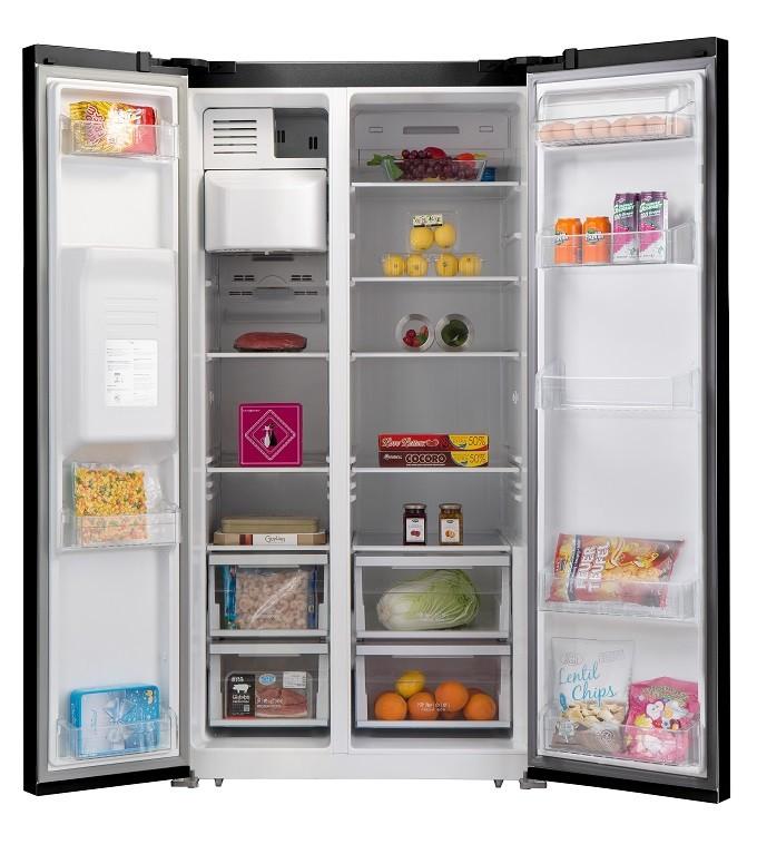 Schneider SCUS550NFGLB, le réfrigérateur américain à l'élégance française