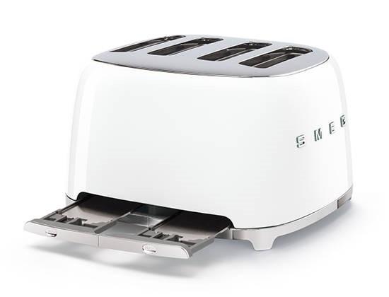"""Smeg TSF03, le toaster 4 tranches """"so fifties"""""""