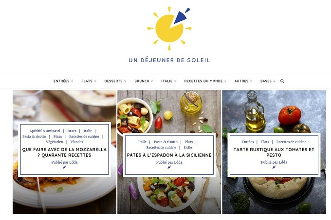 Un Déjeuner de Soleil, la cuisine italienne selon Edda Onorato