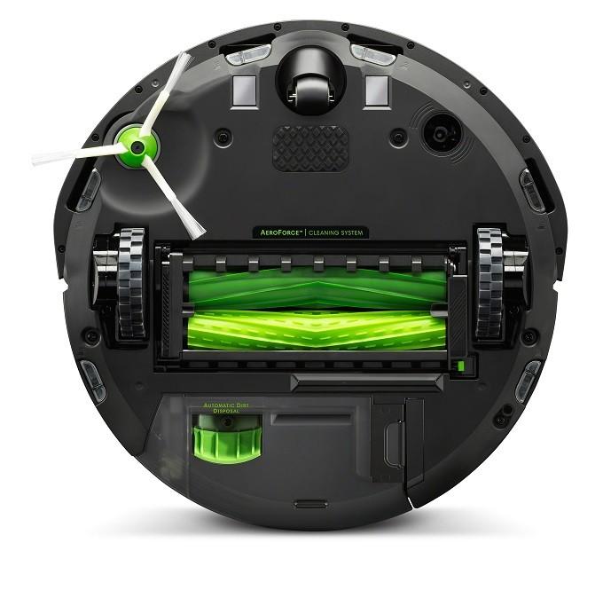 Test du iRobot Roomba i7+,  la poussière est dans le sac