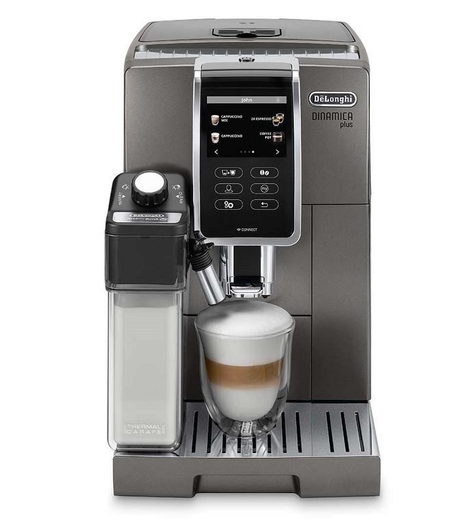 Delonghi Dinamica Plus, un robot café connecté et ultra personnalisable