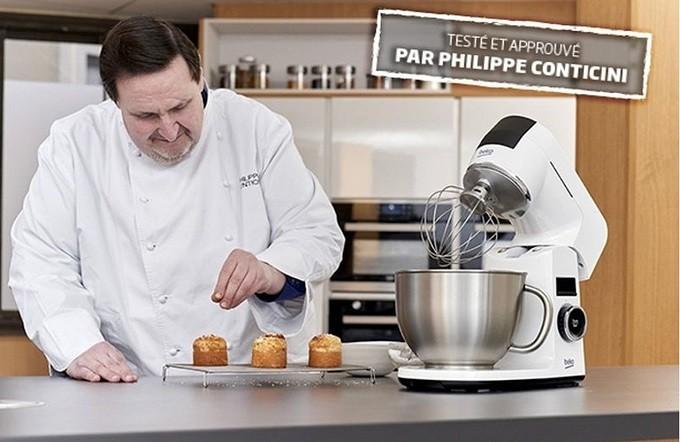 BekoChef KMD3102W : le robot pâtissier testé et approuvé par le chef Philippe Conticini