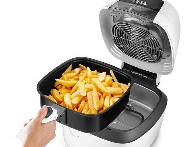 DeLonghi Idealfry, la friteuse sans huile qui a tout d'un multicuiseur