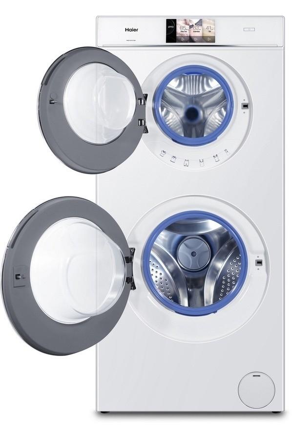 Haier Duo Dry HWD120-B1558U : deux tambours pour laver, sécher et se plier à tous les besoins