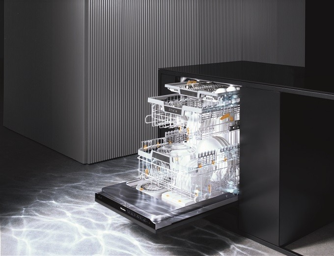 Miele AutoDos avec PowerDisk, le lave-vaisselle qui dose avec précision et efficacité