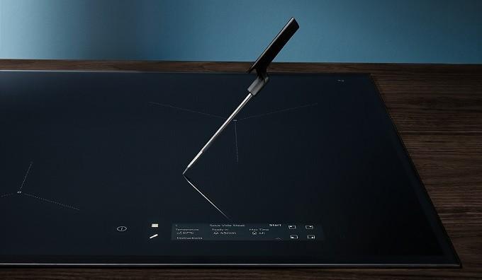 Electrolux SensePro, la table induction avec sonde de cuisson sans fil