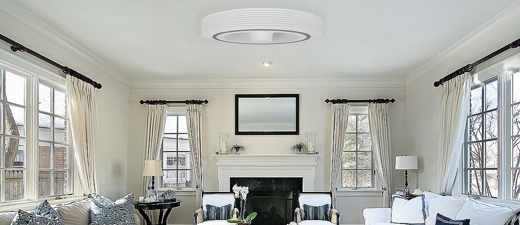 Exhale, le  ventilateur de plafond sans pales mais avec classe