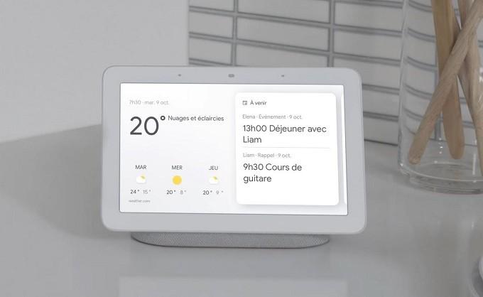 Google Nest Hub, l'assistant domestique pilotable à la voix et au doigt