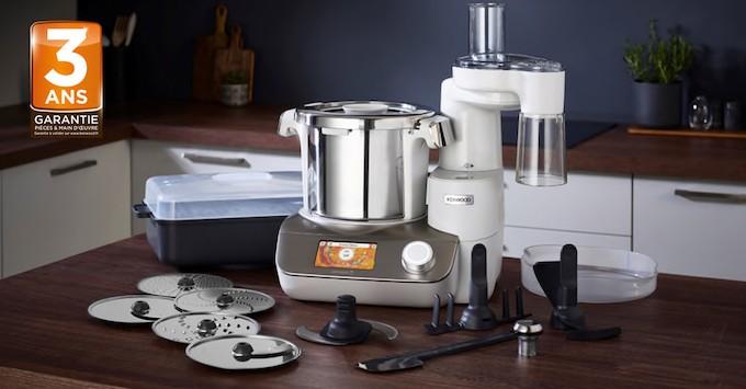 Kenwood CookEasy+, le robot cuiseur multifonction qui sait tout faire, mais en mieux