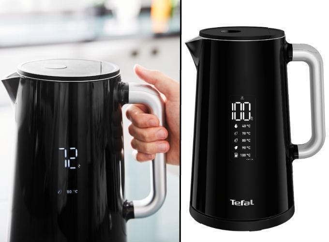 Tefal Smart & Light, une bouilloire à température réglable pratique et accessible