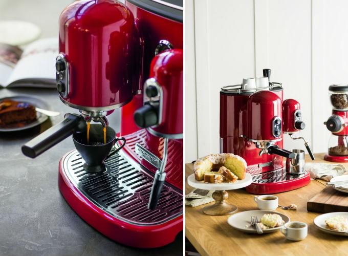 KitchenAid Artisan 5KES2102, une belle machine à expresso qui en a sous le capot